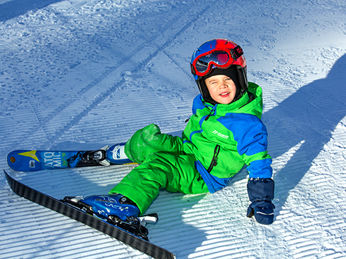 children's ski snowboard lessons in chamonix