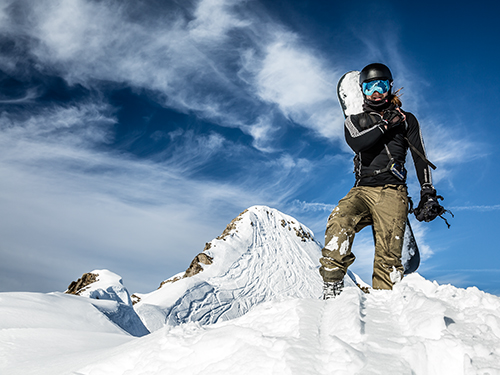 snowboard lessons in chamonix, english russian speaking snowboard instructor